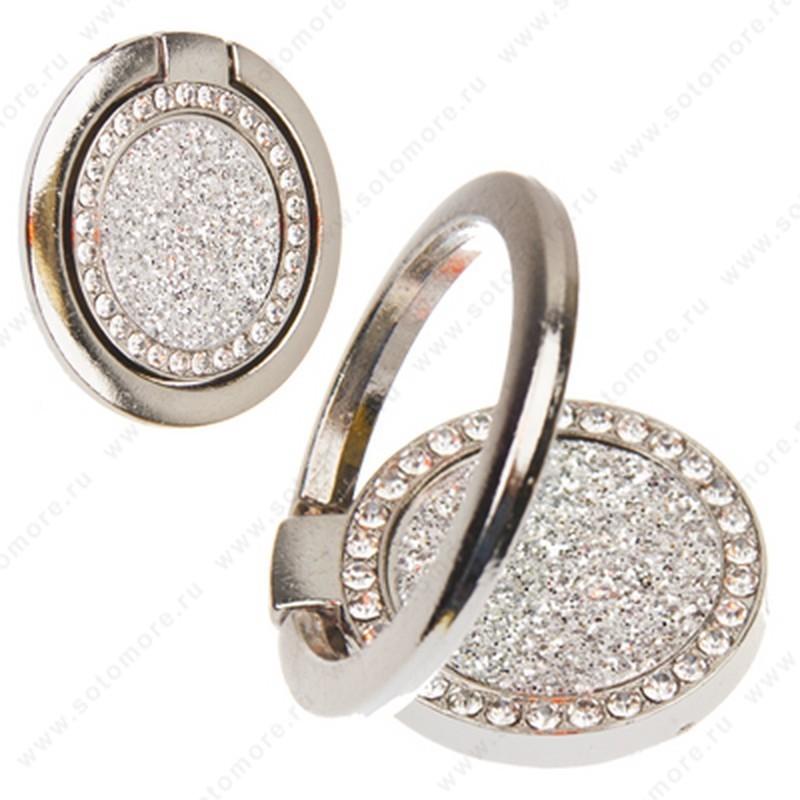 Кольцо держатель с камнями и стразами Вид 14