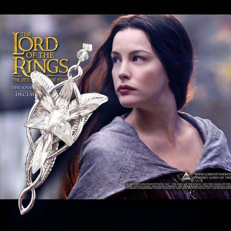 Lord of Rings Pendant Arwen Evenstar