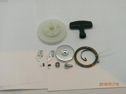 Ремкомплект UNITED PARTS для ручного стартера ET950/GG950/DPG1101 (все,кроме крышки и шнура)