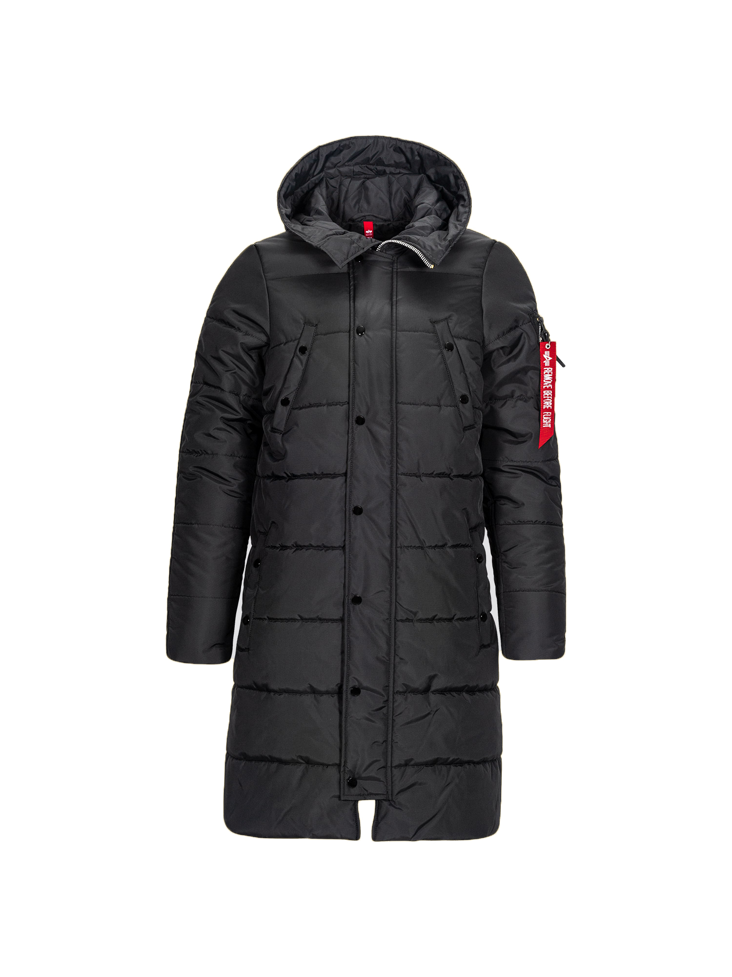 Alpha Industries N-3B Reverb Parka Black (черная)
