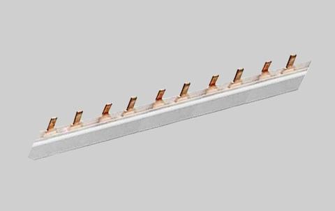Шина соединительная 1П 100A PIN (штырь) 1м. TDM