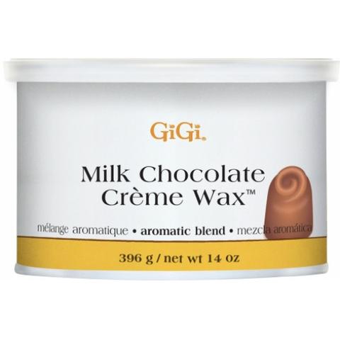 GiGi, Milk Chocolate Creme Wax - Кремообразный воск с ароматом молочного шоколада,396гр.