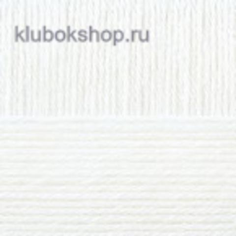 Пряжа Детская новинка (Пехорка) 01
