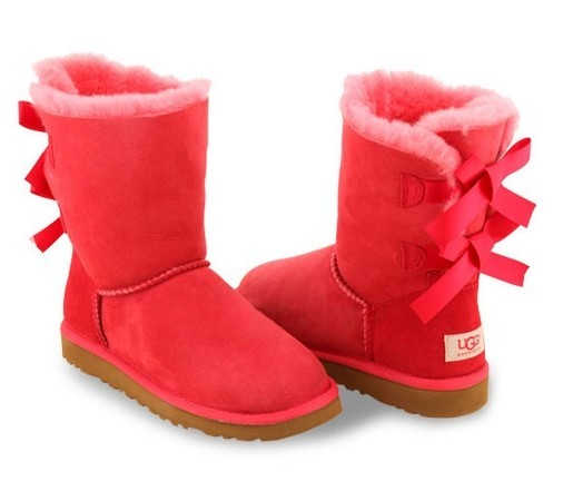 UGG Bailey Bow Red