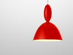 светильник MHY by MUUTO ( красный )