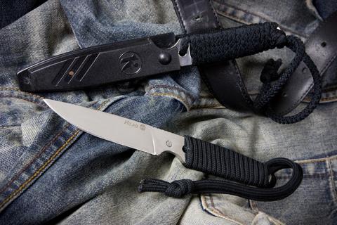 Туристический нож Игла Шнур Полированный
