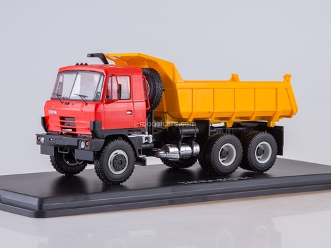 Tatra 815S1 tipper red-yellow 1:43 Start Scale Models (SSM)