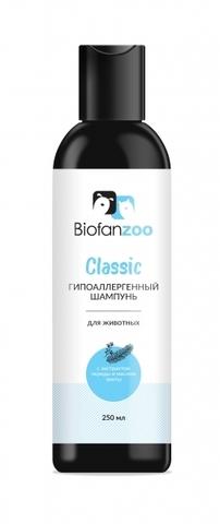 Гипоаллергенный шампунь Biofan Zoo Classic с экстрактом череды и маслом пихты для животных - 250 мл 250 мл