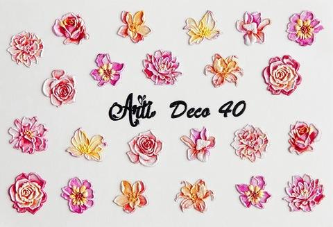 Слайдер Arti 3D Deco № 040