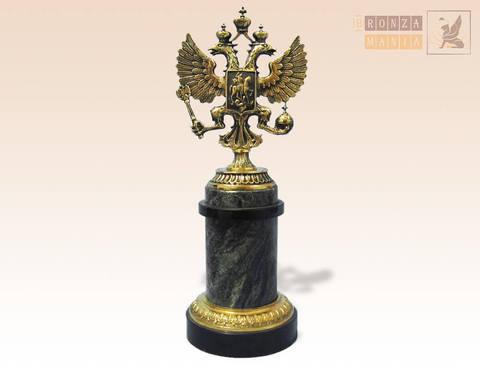 статуэтка Герб России колонна
