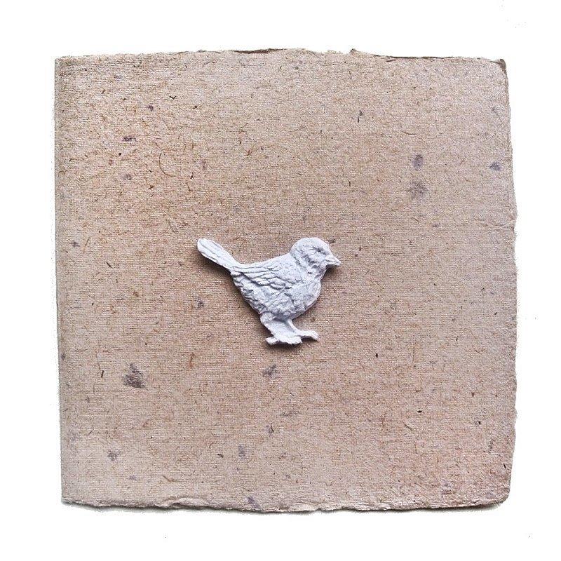 Открытка из переработанной бумаги