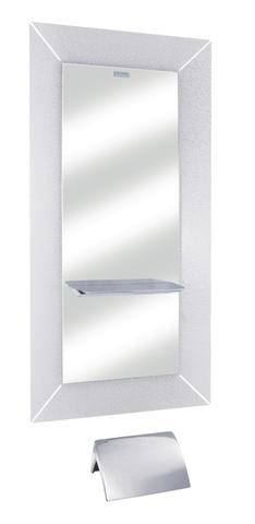 Зеркало парикмахерское CHIC с жемчужной рамой