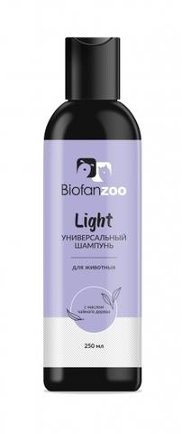 Универсальный шампунь Biofan Zoo Light с маслом чайного дерева для животных - 250 мл