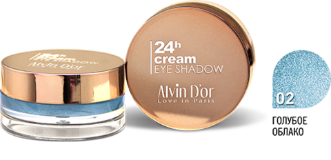 Alvin D`or AES-15 Тени для век 24h Cream EyeShadow (тон 02)