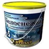 """Святозар-5С """"Белоснежка"""" супербелая краска для потолков интерьера. Не мелится. 2.2л/2.5кг"""