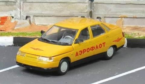 VAZ-2110 Lada Aeroflot service Airport Agat Mossar Tantal 1:43