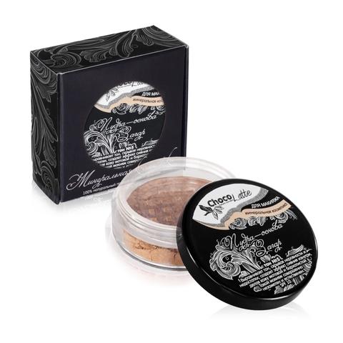 Для макияжа Пудра-Основа Тон №5 Загар, с матирующим эффектом, SPF 10, 10 мл/5гр TM ChocoLatte