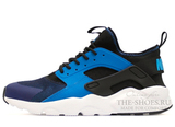 Кроссовки Мужские Nike Air Huarache Run Ultra Hyper Blue Black White