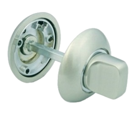 Фурнитура - Завёртка  Morelli MH-WC SN/CP, цвет белый никель/полированный хром ЦАМ - (сплав, содержащий цинк, алюминий и медь) + многослойное гальваническое покрытие