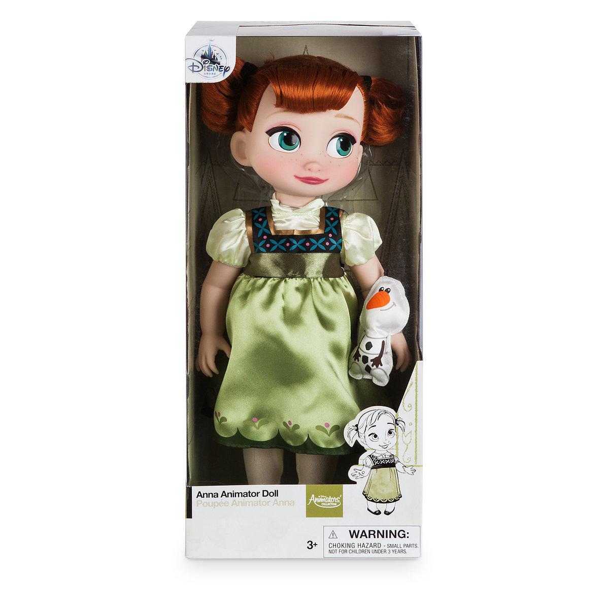 """Кукла """"Маленькая Анна"""" - Disney Animators' Collection"""