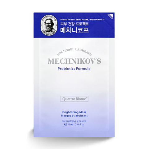 Маска HOLIKA HOLIKA Mechnikov's Probiotics Formula Brightening Mask 1 шт.