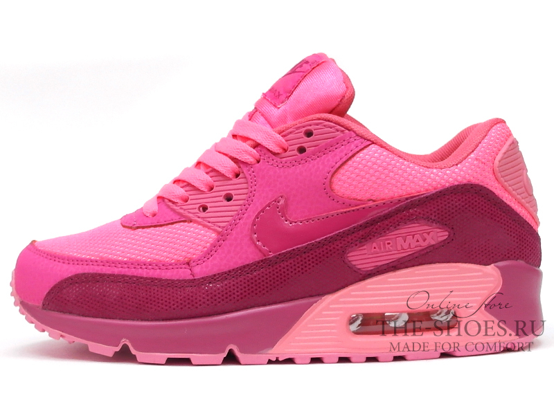bb4497800912 ... Кроссовки Женские Nike Air Max 90 Essential Red Pink. Артикул