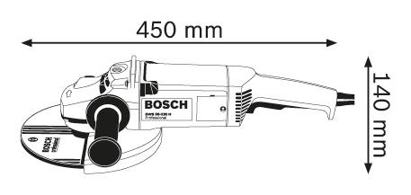 Болгарка BOSCH GWS 20-230H Professional