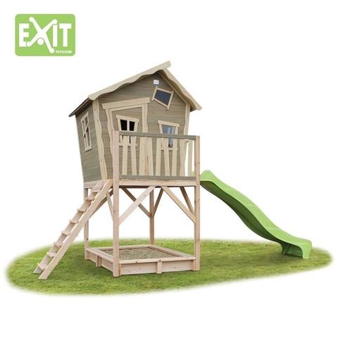Игровой комплекс EXiT Toys Дом с горкой-волной 700