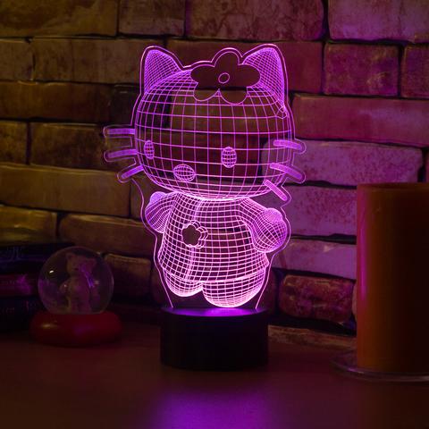 3D лампа Hello Kitty 3D