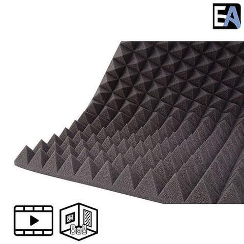 ECHO BLACK Акустический поролон Piramida 70 Чёрный