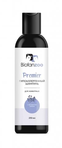 Гипоаллергенный шампунь Biofan Zoo Premier с экстрактом лопуха для животных - 250 мл 250 мл