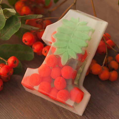 Пластиковая форма для мыла Единица
