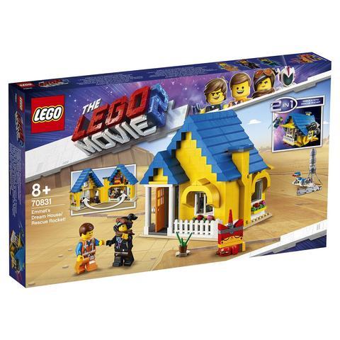 LEGO Movie: Дом мечты Спасательная ракета Эммета! 70831 — Emmet's Dream House/Rescue Rocket! — Лего Муви Фильм