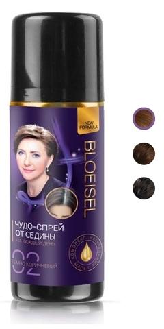 Bloeisel Чудо-спрей от седины для женщин тон 01 черный 75мл