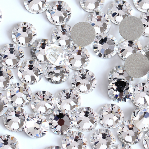 Стразы SS10 прозрачный кристалл 100 шт