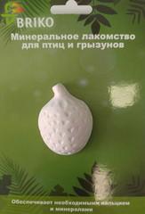 Briko минеральный камень для грызунов и птиц Клубника