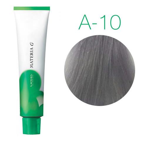 Lebel Materia Grey A-10 (яркий блондин пепельный) - Перманентная краска для седых волос