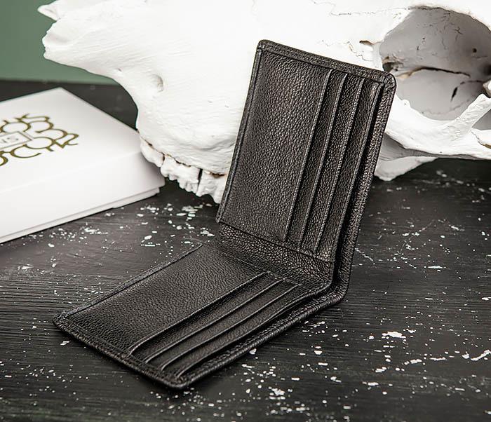 WL320-1 Классическое мужcкое портмоне для карт и купюр, «Santini» фото 05