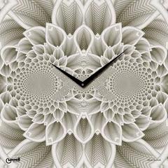 Часы настенные Lowell 07402 Flora