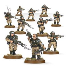 Start Collecting! Astra Militarum. Кадианцы Ударной Части