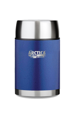 Термос «Арктика» с широким горлом, синий 600 мл