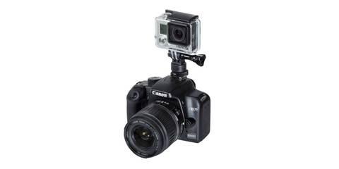 Крепление на фотокамеру SP Hot Shoe Mount на фотоаппарате