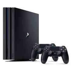 Sony PlayStation 4 Pro Black 1Tб (CUH-7208) + второй DualShock 4