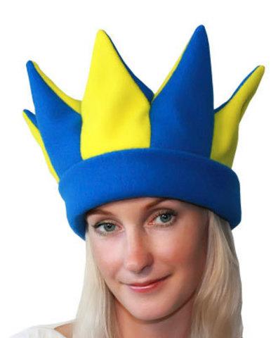 Карнавальная шапка Петрушка синий