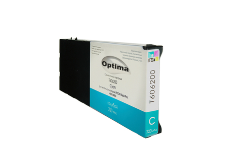 Картридж Optima для Epson 4900 C13T653200 Cyan 200 мл