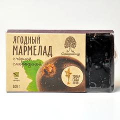 Мармелад Ягодный с черной смородиной Сибирский кедр 200г
