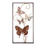 Панно настенное Бабочки 29,8х59,7 см, артикул 680-126, производитель - Lefard