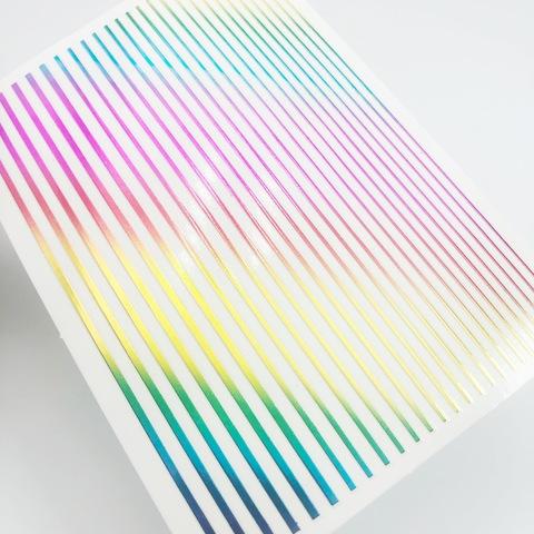Дизайн полосочки разноцветные