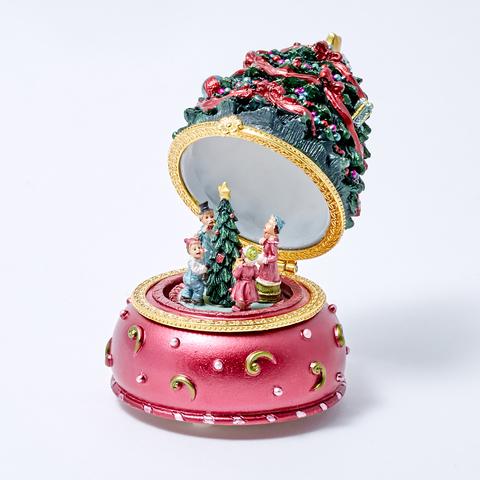 Музыкальный новогодний сувенир-шкатулка