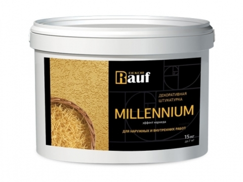 Rauf Dekor MILLENIUM декоративная штукатурка с эффектом